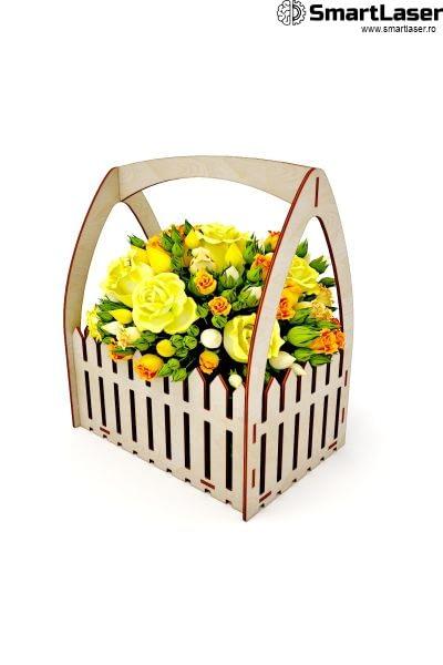 Cutii Flori Ladita Lemn