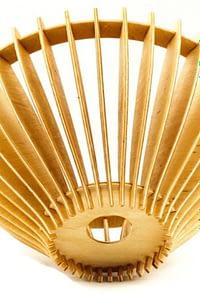 candelabre din lemn