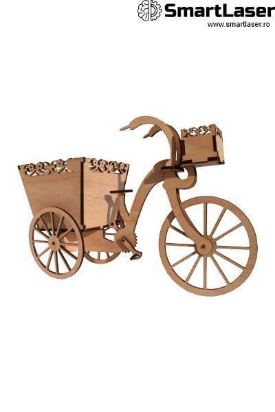 Cutii Flori Decorative Bicicleta