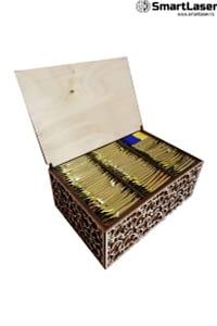 Cutii Lemn Personalizate Bani