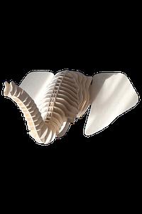 Decoratiuni Lemn Perete Elefant