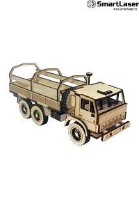 Camion Jucarie Lemn