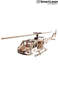 Elicopter Jucarie Lemn