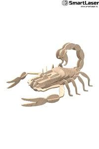 Jucarie Lemn Scorpion