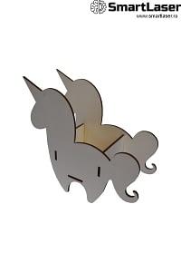 Cutii Flori Lemn Unicorn