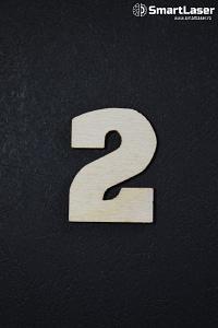 Cifra Lemn 2 – Cifre din Lemn