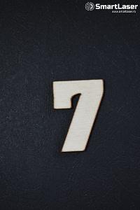 Cifra Lemn 7 – Cifre din Lemn