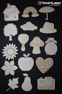 Figurine Anotimpuri – Set 16 Figurine Lemn