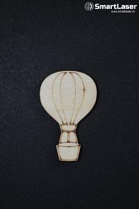 Figurine Lemn Balon Aer