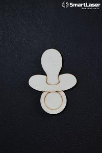 Figurine Lemn Biberon