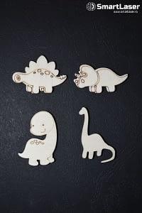 Figurine Dinozauri – Set 20 Figurine Lemn