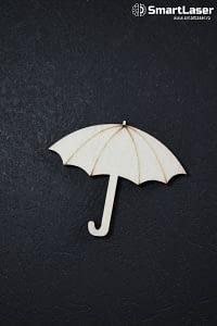 Figurine Lemn Umbrela