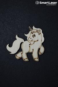 Figurine Lemn Unicorn