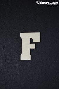 Litera Lemn Mare F – Litere din Lemn