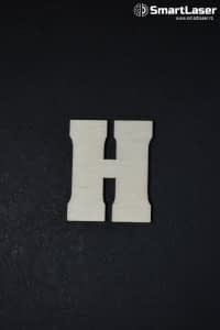 Litera Lemn Mare H – Litere din Lemn