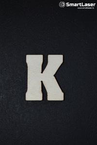 Litera Lemn Mare K – Litere din Lemn
