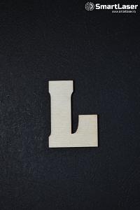 Litera Lemn Mare L – Litere din Lemn
