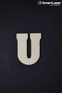 Litera Lemn Mare U – Litere din Lemn