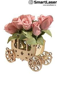 Cutii Lemn pentru Aranjamente Florale
